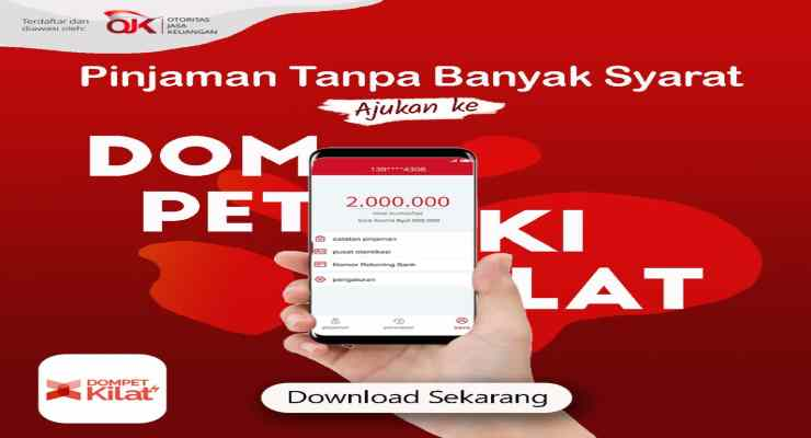 Pinjaman Online Dompet Kilat, Mudah, Cerdas dan Aman